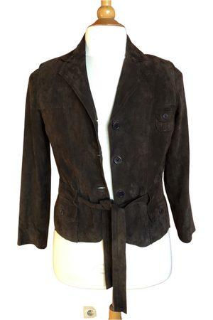 Guigue Leather short vest