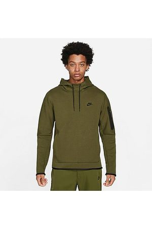 Nike Men's Sportswear Tech Fleece Ribbed Hoodie in /Rough Size Small Cotton/Polyester/Fleece