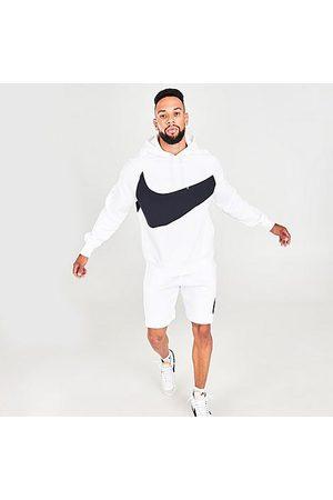Nike Men's Sportswear Swoosh Logo Tech Fleece Pullover Hoodie in / Size Small Cotton/Polyester/Fleece