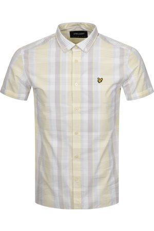 Lyle & Scott Short Sleeved Checked Shirt