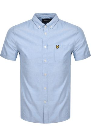 Lyle & Scott Men Short sleeves - Oxford Short Sleeve Shirt