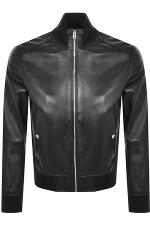 HUGO BOSS BOSS Nafan Leather Jacket