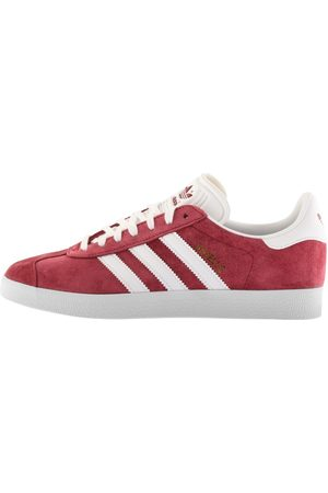 Adidas Originals Gazelle Trainers Burgundy