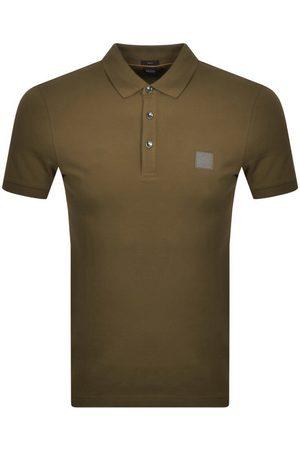 HUGO BOSS BOSS Passenger 1 Polo T Shirt Khaki