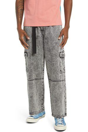 BP. Be Proud By Pride Gender Inclusive Belted Denim Cargo Pants
