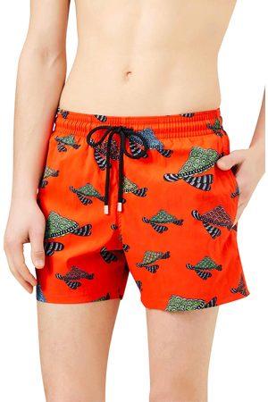 Vilebrequin Men's Turtle Print Swim Trunks