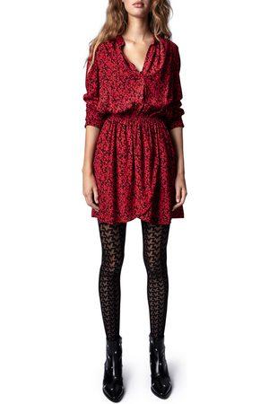 Zadig & Voltaire Women's Rinka Blossom Long Sleeve Minidress
