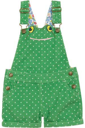 Boden Toddler Girl's Kids' Animal Short Corduroy Overalls