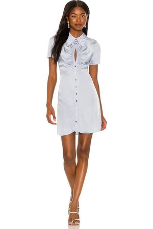 Song of Style Lily Mini Dress in Baby .