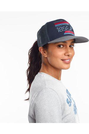 Saucony Men Hats - Trucker Hat NavyPrint