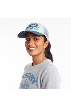 Saucony Men Hats - Foam Trucker Hat CrystalBlue