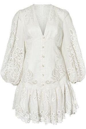 ZIMMERMANN Mae lace mini dress