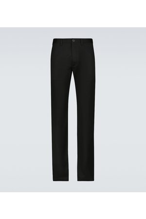 Saint Laurent Stretch-cotton gabardine chino pants