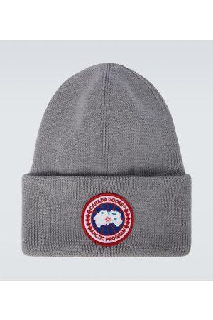Canada Goose Men Beanies - Arctic Disc Toque wool beanie