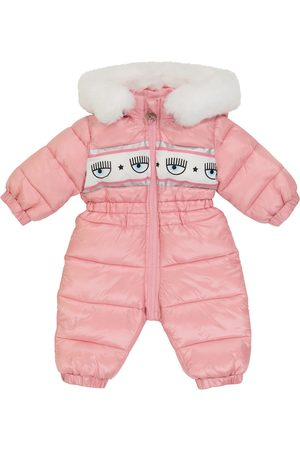 MONNALISA X Chiara Ferragni Baby printed snowsuit