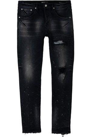 Purple Brand Bandana Patch Pocket Skinny Jeans