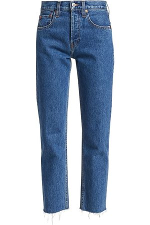 RE/DONE Rigid High-Rise Stovepipe Jeans