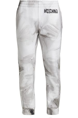 Moschino Painted Jogger Sweatpants