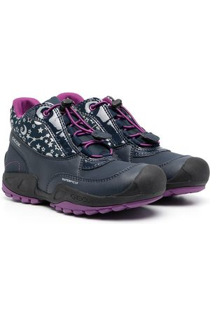Geox Girls Ankle Boots - Star-print ankle-length boots