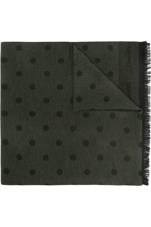 Church's Men Scarves - Polka dot frayed scarf