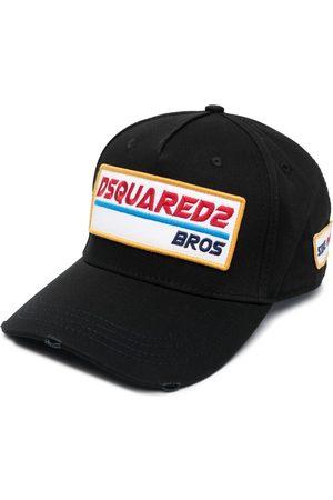 Dsquared2 Men Caps - Logo-patch cotton cap