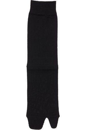 Maison Margiela Cotton Knit Rib Socks