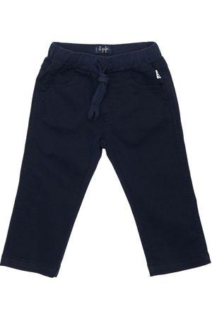 Il gufo Boys Stretch Pants - Stretch Cotton Gabardine Pants