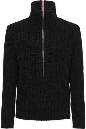 MONCLER Wool Knit Turtleneck Sweater