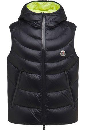 Moncler Men Gilets - Demy Shiny Micro Ripstop Down Vest