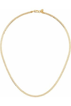"""Maria Black Saffi 43"""" -plated sterling silver necklace"""