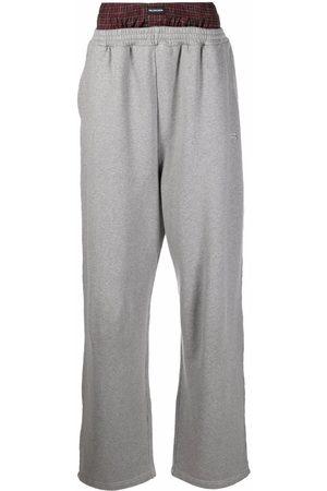 Balenciaga Trompe l'oeil track trousers - Grey