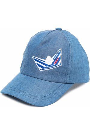 MONNALISA Caps - Embroidered motif baseball cap