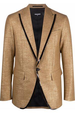 Dsquared2 Contrast-trim blazer