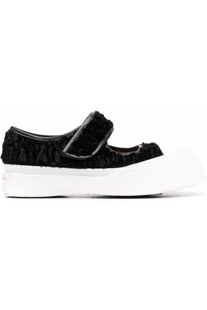 Marni Women Sneakers - Cut-out touch-strap sneakers