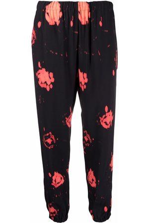 Marni Tie-dye print cropped trousers