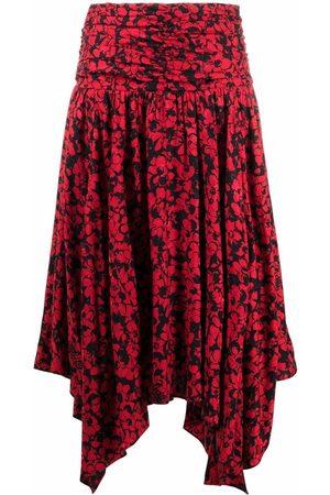 Zadig & Voltaire Women Printed Skirts - Jafar floral-print skirt