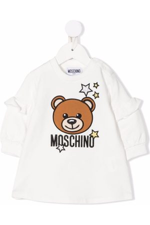 Moschino Teddy Bear embroidered sweatshirt dress