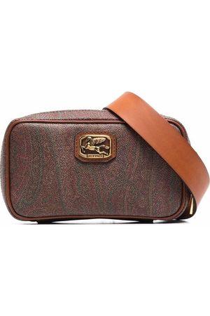 Etro Logo-plaque paisley belt bag