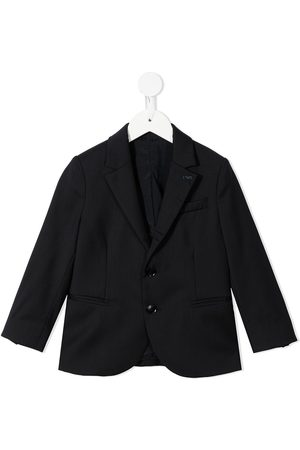 Emporio Armani Suits - Single-breasted wool suit