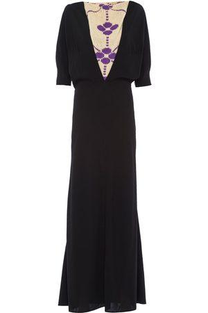 Prada Knitted panel dress