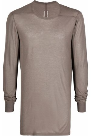 Rick Owens Men Long Sleeve - LS Level long-sleeved T-shirt - Grey