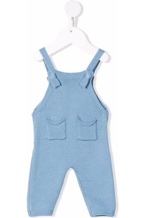 Il gufo Dungarees - Tapered-leg wool dungarees