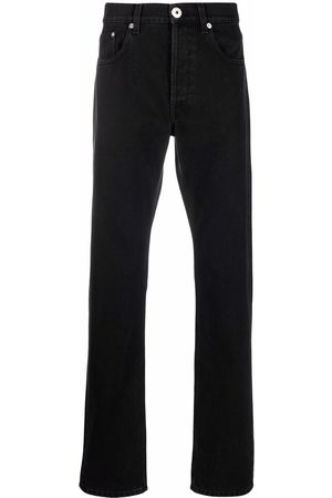 Lanvin Men Slim - Logo-patch slim-fit jeans