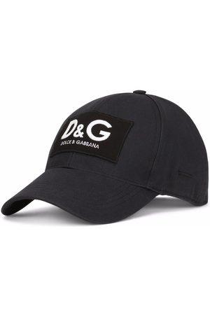 Dolce & Gabbana Men Caps - Embroidered logo-patch baseball cap