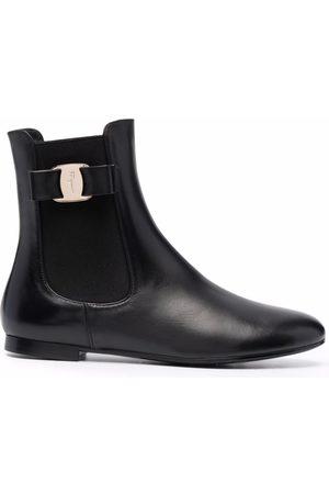 Salvatore Ferragamo Women Chelsea Boots - Vara Bow Chelsea boots