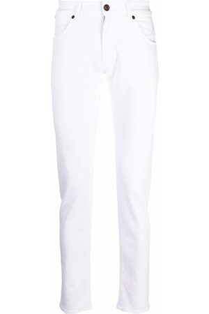 PT01 High-rise fitted jeans