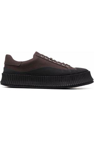 Jil Sander Men Sneakers - Colour-block low-top vulcanised-sole sneakers