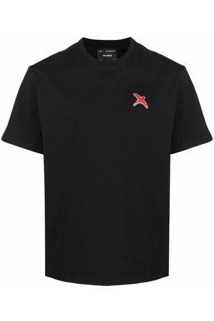 Axel Arigato Men T-shirts - Bird-embroidered organic cotton T-shirt