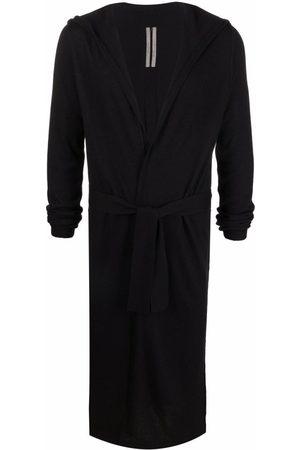 Rick Owens Men Cardigans - Longline cashmere cardigan