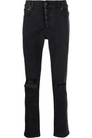 Msgm Men Skinny - Mid-rise skinny jeans